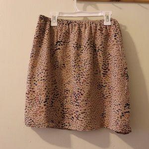 Madewell Broadway & Broome Silk Skirt